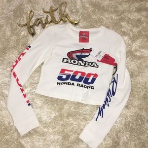 Forever 21 Honda racing shirt
